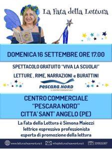 La-Fata-della-Lettura-CC-Pescara-Nord-Città-Sant-Angelo-Pe- Eventi per famiglie Abruzzo