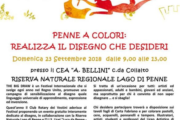 Penne-a-colori-Riserva-Naturale-Penne-PE- Eventi per bambini Pescara