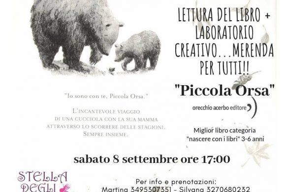 Piccola-Orsa-Lettura-e-merenda-Stella-degli-Elfi-Copisteria-Coppito-AQ-Eventi per famiglie Abruzzo