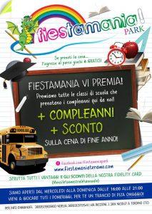 Promozione Scuole e compleanni Fiestamania Park Teramo