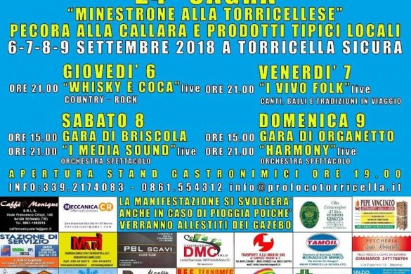 Sagra-Minestrone-alla-Torricellese-e-Pecora-alla-Callara-Torricella-Sicura-TE-Sagre in Abruzzo