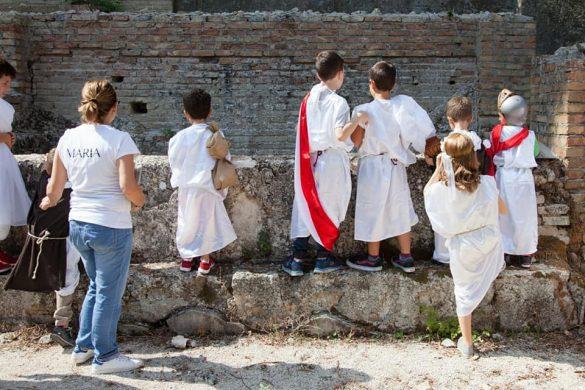 Visite Guidate Terme Romane Chieti - Eventi per bambini Chieti