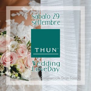 Wedding Love Day Thun Shop Teramo