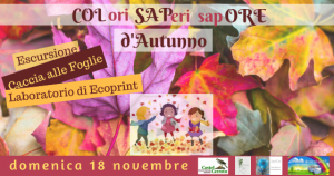Colori, Saperi, Sapore d'autunno alla Riserva Castel Cerreto - Penna Sant'Andrea - Teramo