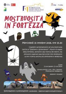 Festa-Halloween-Fortezza-Civitella-del-Tronto-TE- Halloween 2018 per bambini in Abruzzo