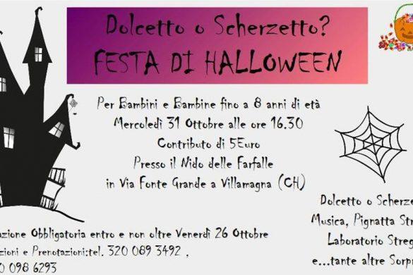 Festa-Halloween-Il-Nido-delle-Farfalle-Villamagna-CH- Halloween 2018 per bambini in Abruzzo