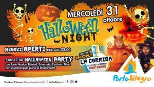 Festa-Halloween-Porto-Allegro-Montesilvano-PE- Halloween 2018 per bambini in Abruzzo
