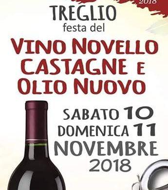 Festa del Vino Novello Castagne e Olio Nuovo - Treglio CH - Feste d'autunno in Abruzzo