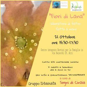 Fiori-di-Lana-Atri- Eventi per bambini Teramo