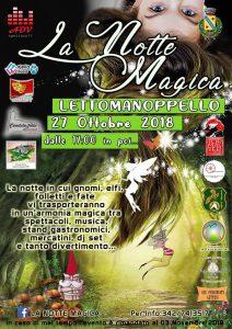 La Notte Magica Lettomanoppello Pescara - Eventi per bambini Pescara