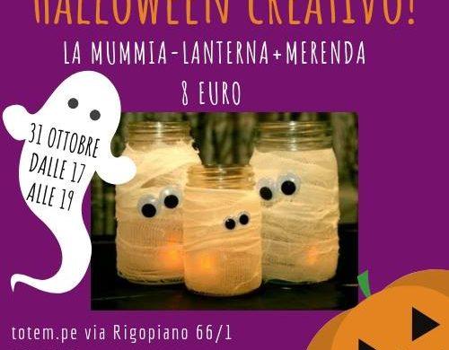 Laboratorio-Halloween-Nido-Totem-Spoltore-PE- Halloween 2018 per bambini in Abruzzo