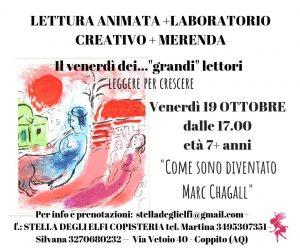 Letture-laboratori-merenda-Stella-degli-Elfi-Coppito-AQ- Eventi per bambini L'Aquila