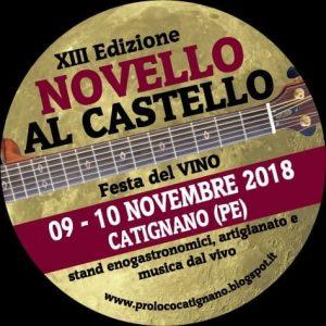 Novello al Castello - Catignano PE - Feste d'autunno Abruzzo