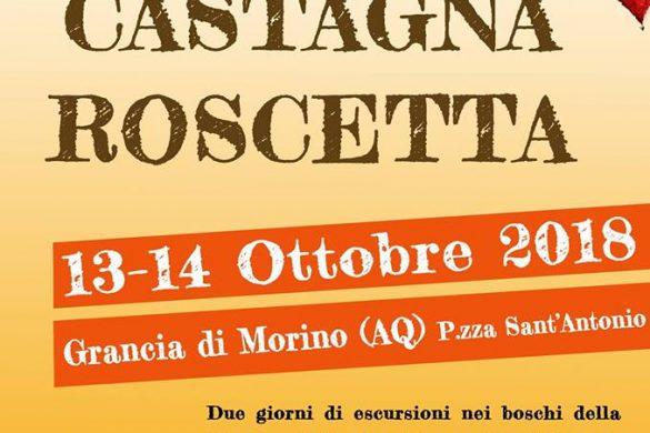 Sagra della Castagna Roscetta - Grancia di Morino AQ - Feste d'autunno Abruzzo