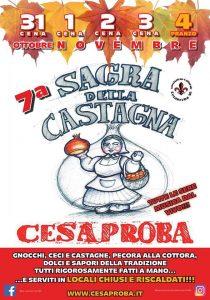 Sagra della castagna Cesaproba AQ - Feste d'autunno in Abruzzo