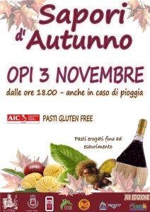 Sapori d'Autunno 2018 Opi AQ - Feste d'autunno Abruzzo