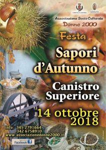 Sapori d'autunno Canistro Superiore AQ - Feste d'autunno Abruzzo