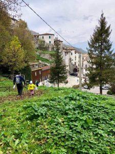 Panorama del paese durante la Caccia al Tesoro - Cosa fare con i bambini a Pietracamela