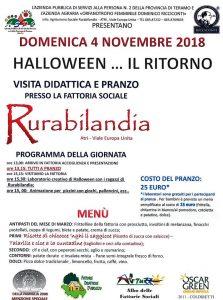 Halloween-Il-Ritorno-Rurabilandia-Atri-TE- Eventi per bambini Teramo