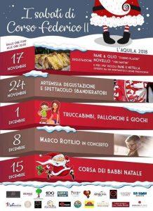 I-Sabati-di-Corso-Federico-LAquila- Cosa fare a Natale con i bambini in Abruzzo