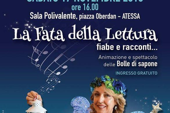 La-Fata-della-Lettura-Atessa- Eventi per bambini Chieti