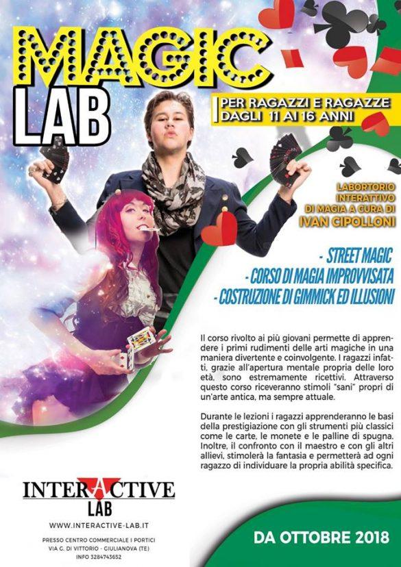 Laboratori di magia Interactive Lab Giulianova - Teramo