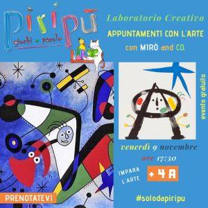 Laboratorio-Creativo-Piripù- Eventi per bambini L'Aquila