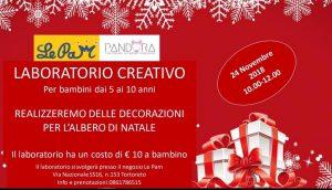 Laboratorio-Natale-Le-Pam-Tortoreto-TE- Cosa fare a Natale con i bambini in Abruzzo
