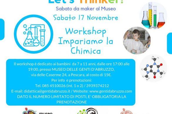 Laboratorio-di-Chimica-Museo-Genti-dAbruzzo-Pescara- Eventi per bambini Pescara