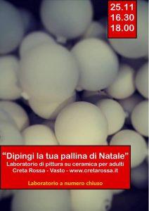 Laboratorio-di-Natale-Creta-rossa-Vasto-CH- Cosa fare a Natale con i bambini in Abruzzo