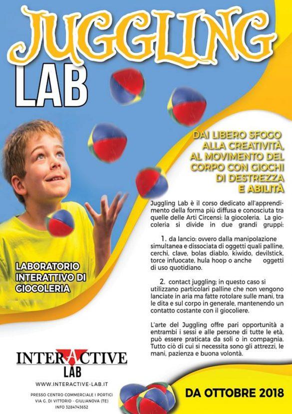 Laboratorio di giocoleria Interactive Lab Giulianova - Teramo