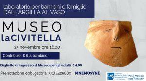 Laboratorio-perbambini-Museo-La-Civitella- Eventi per bambini Chieti