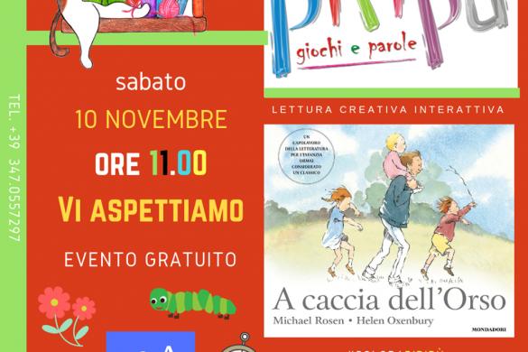 Lettura-Creativa-Piripù- Eventi per bambini L'Aquila