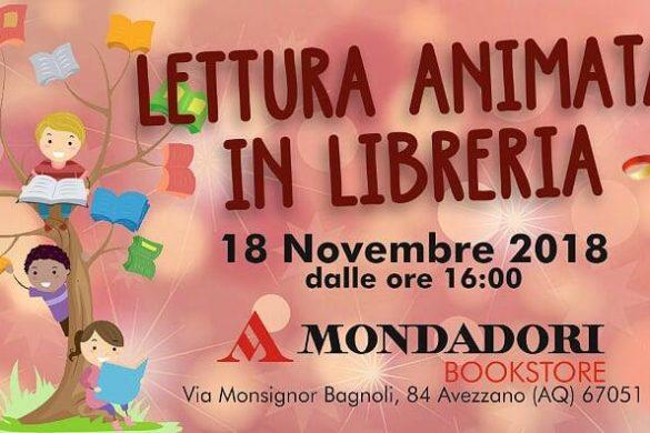 Lettura-animata-per-bambini-Mondadori-Avezzano- Eventi per bambini L'Aquila