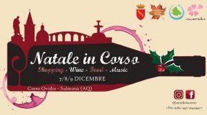Natale-in-Corso-Sulmona-LAquila- Cosa fare a Natale con i bambini in Abruzzo