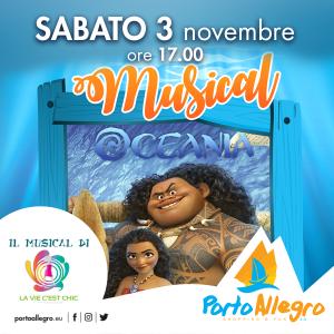 Oceania-Musical-Porto-Alegro-Montesilvano-PE- Eventi per bambini Pescara