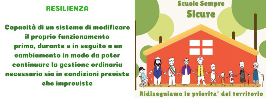 1,2,3...RESILIENTISSSIMI!!! Scuole Sicure Sempre - Resilienza Abruzzo