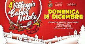 Villaggio-di-Babbo-Natale-Cepagatti-PE- Cosa fare a Natale con i bambini in Abruzzo