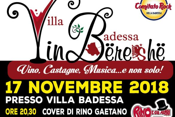 Vin-Bereshe-Villa-Badessa-Rosciano- Feste d'autunno in Abruzzo