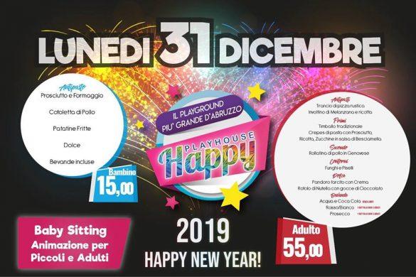 Capodanno 2019 con i bambini in Abruzzo - Happy Play House - Montesilvano - Pescara