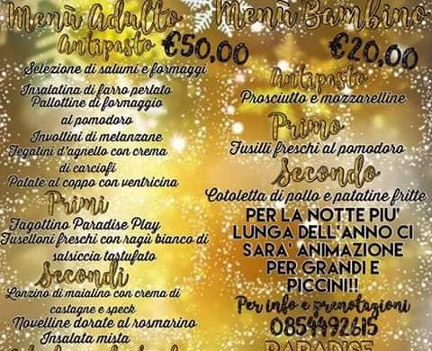Capodanno 2019 con i bambini in Abruzzo - Paradise Play - Montesilvano - Pescara