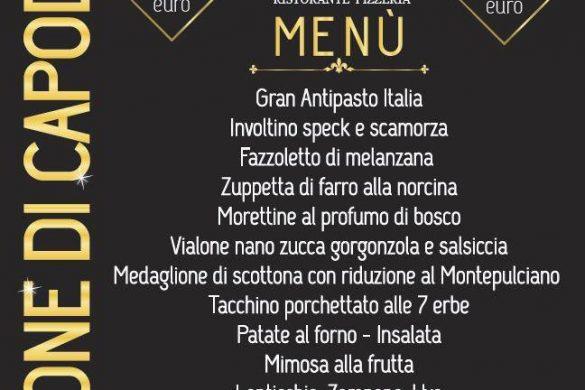 Capodanno 2019 con i bambini in Abruzzo -Ristorante Pizzeria Italia - Teramo