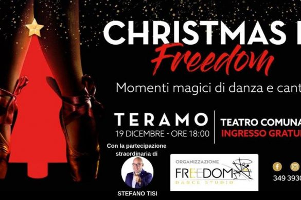 Christmas-is-Freedom-Freedom-Dance-Studio-Teramo - Natale 2018 in Abruzzo