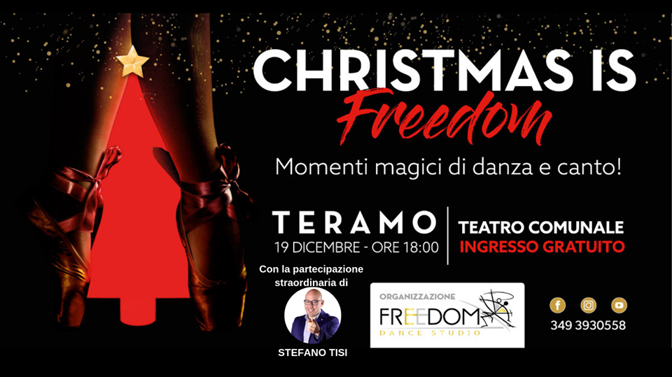 Christmas is Freedom - Teatro Comunale - Teramo