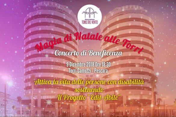 Concerto-di-Beneficenza-Torri-Camuzzi-Pescara - Eventi per bambini in Abruzzo weekend 7 - 9 dicembre