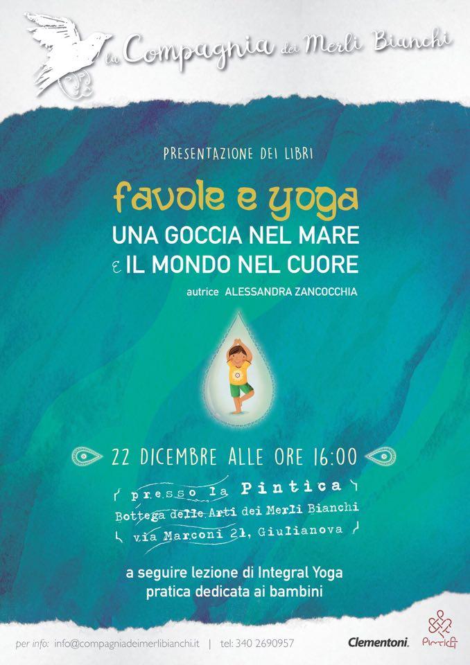 Favole e yoga - Compagnia dei Merli Bianchi - Giulianova