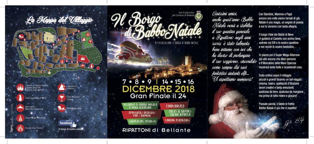 Il Borgo di Babbo Natale a Ripattoni - Bellante - Teramo