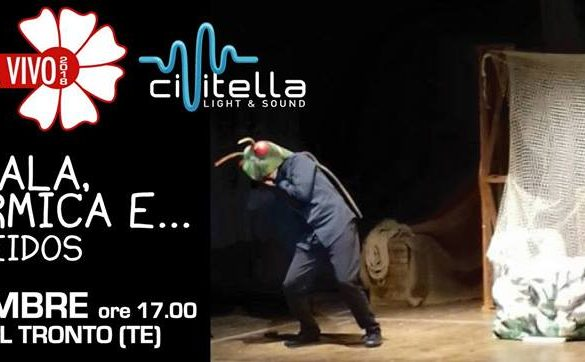 La-Cicala-e-la-Formica-Teatro-Eidos-Cvitella-del-Tronto-Teramo - Eventi per bambini in Abruzzo
