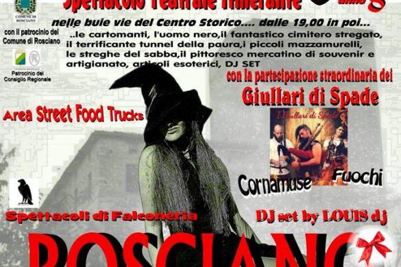 La-Notte-delle-Streghe-Rosciano-Pescara - Eventi per bambini in Abruzzo weekend 1 - 2 dicembre