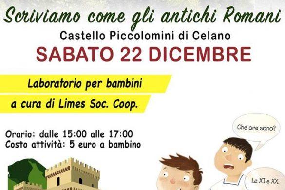 Laboratorio-Castello-Piccolomini-Celano-L'Aquila - Eventi per bambini in Abruzzo